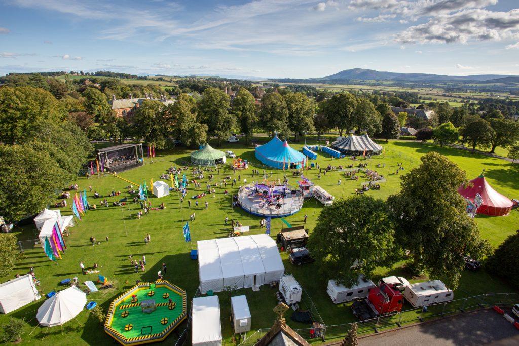 Greenfield music Festival in Scotland